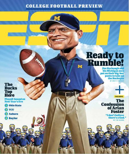 ESPN Magazine Foster